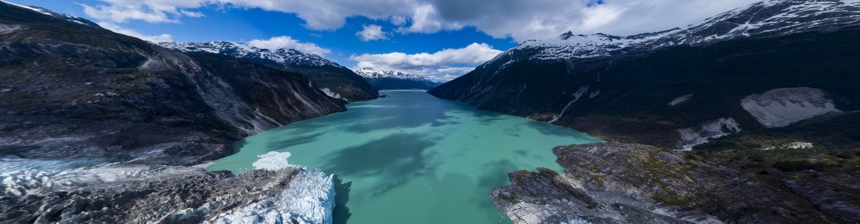Drone DJI Mavic air panorama sphérique