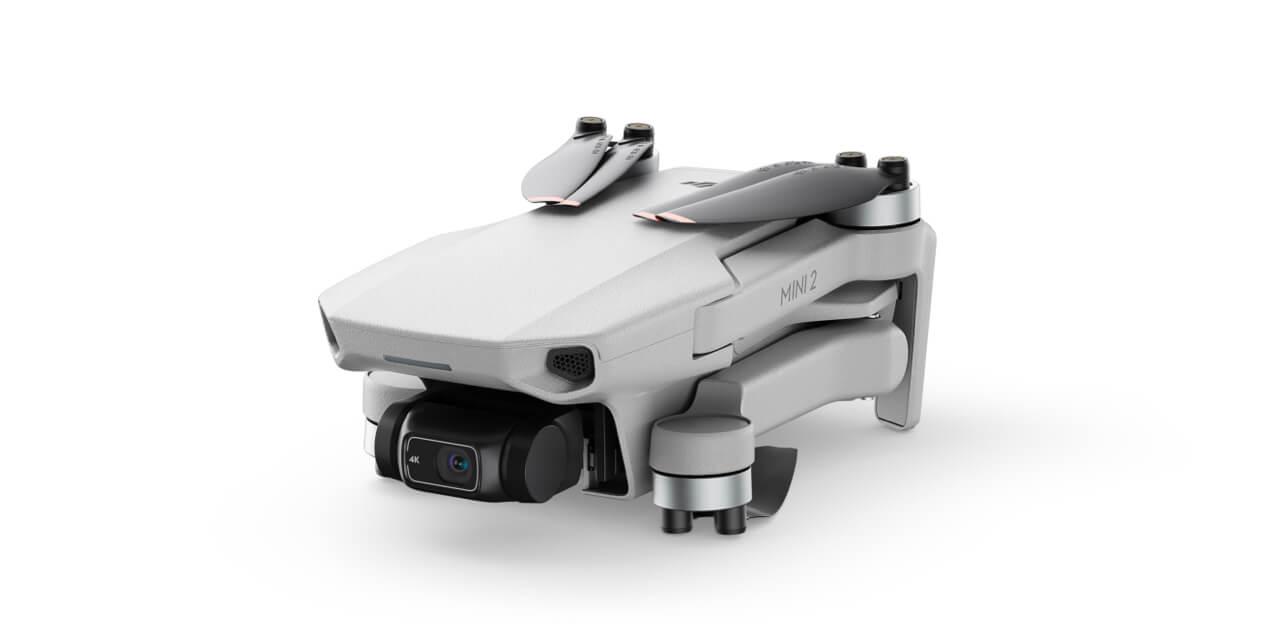 Drone DJI Mini 2 plié