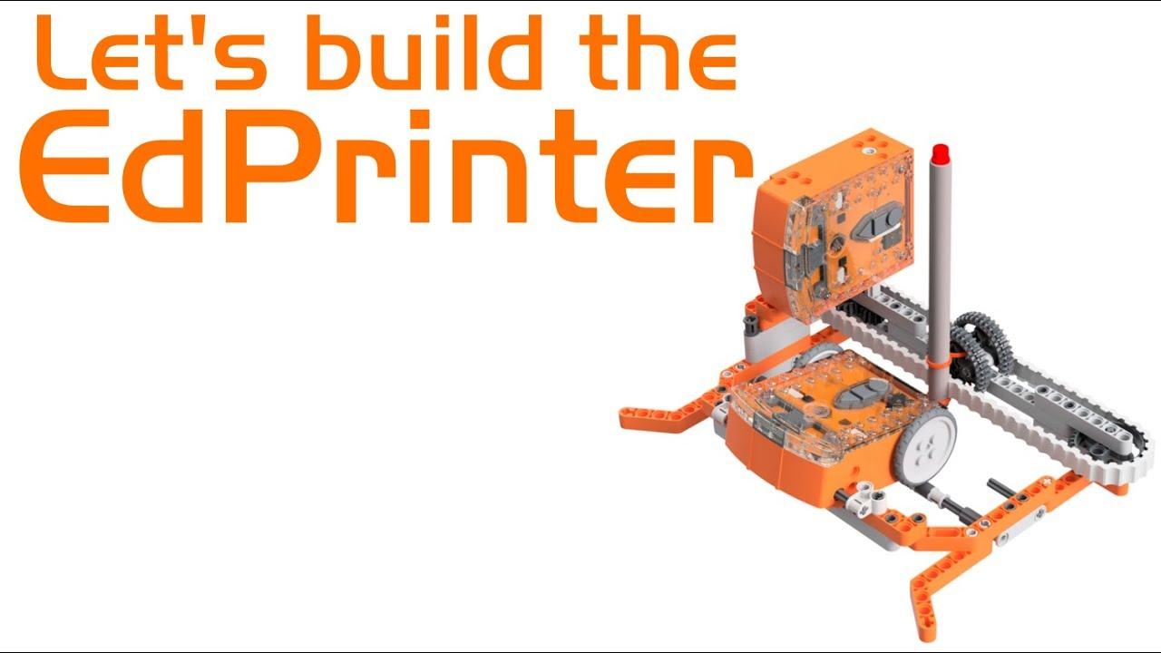 Edcreate Edprinter projet éducatif Edison