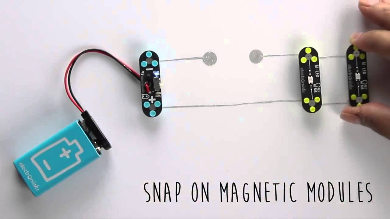 How To Make A Simple Circuit Scribe Draw Your With Conductive Pen