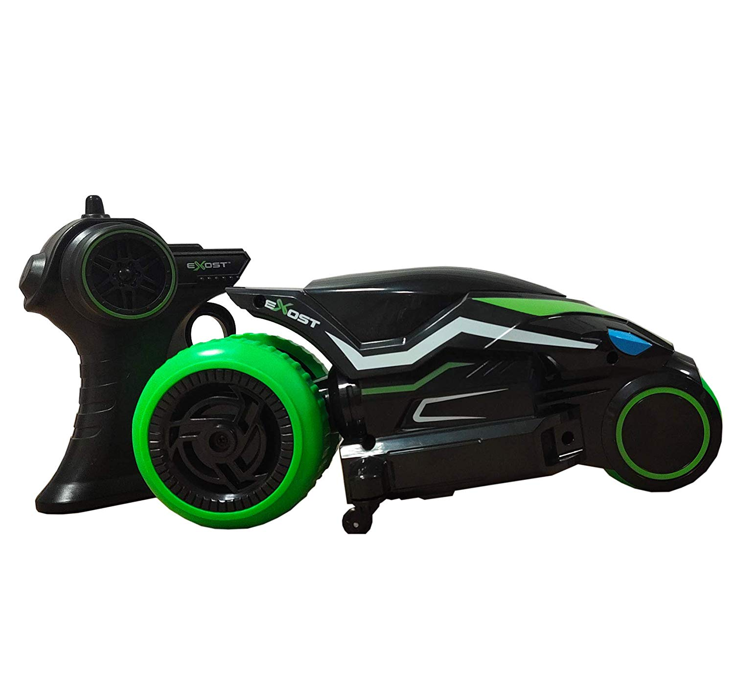 remote controlled motorcycle motodrift exost silverlit