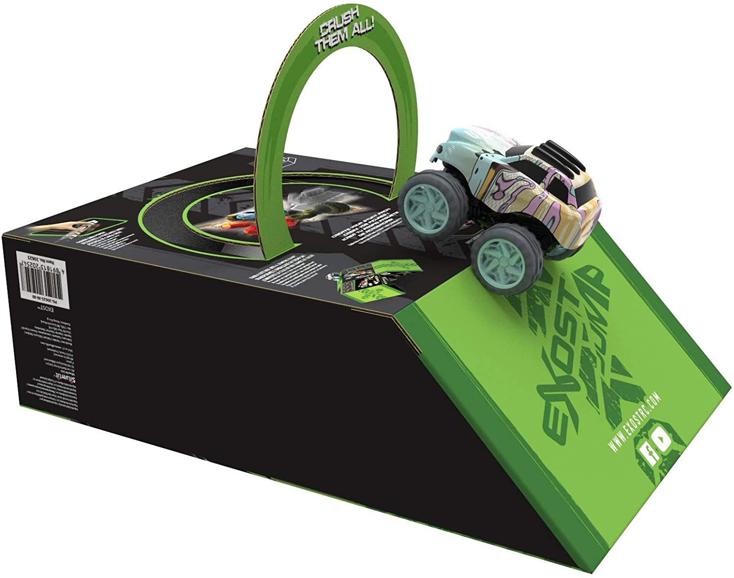 Exost Jump Pack Duo friction cars