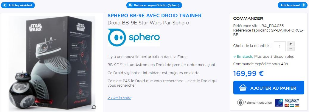 Sphero BB9 Star Wars