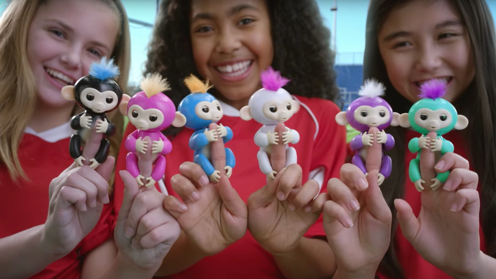 robot fingerlings de WowWee
