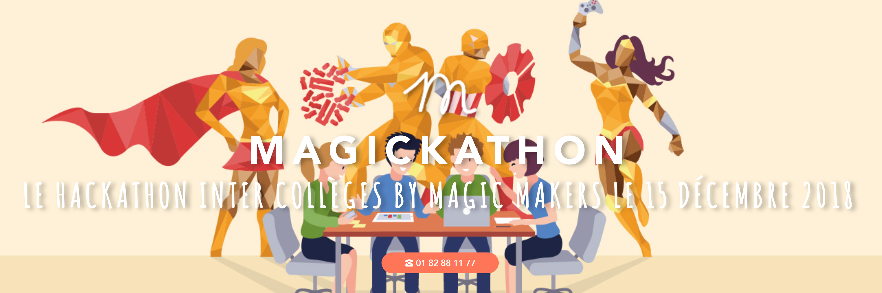 Hackathon Magic Makers Paris 2018