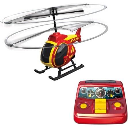 hélicoptère télécommandé de pompier pour les enfants