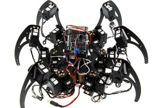 Hexapod robot DFRobot