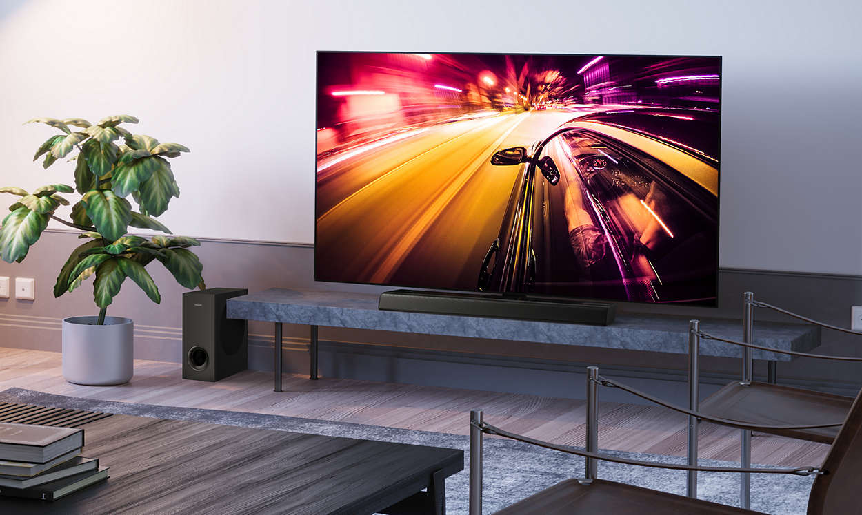 Philips Sound Bar TAPB405/10 Voice Assistant