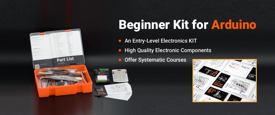 kit démarrage Arduino débutants