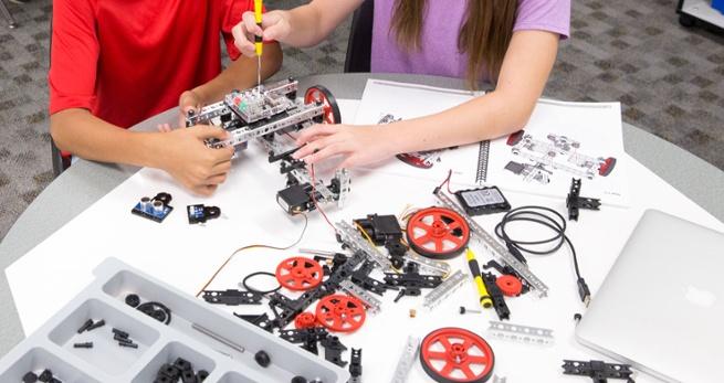 learn STEM with TETRIX PRIME educational kits