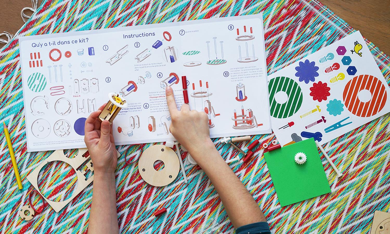 Koa Koa fabrique un taille crayon