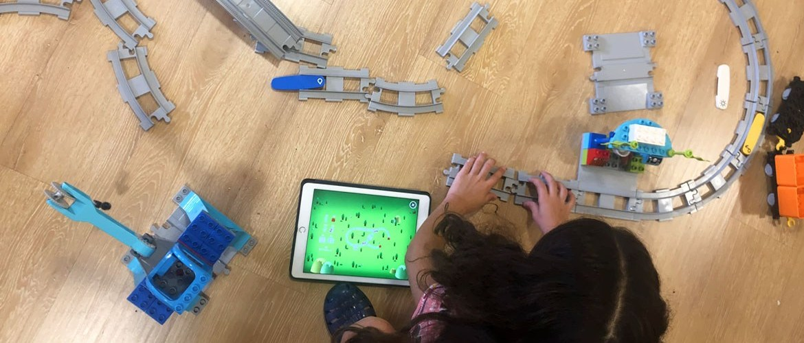LEGO Education coding express codage