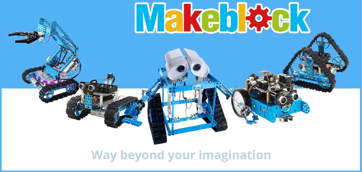 Makeblock: robots and educational kits to learn STEM
