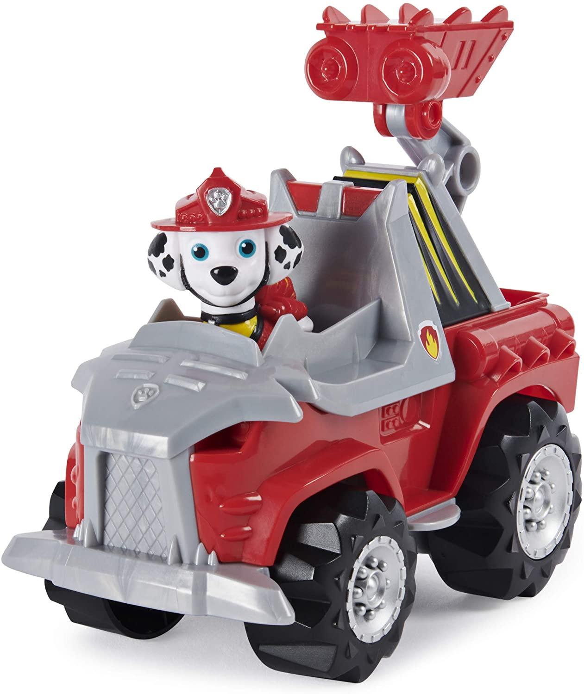 Marcus Dino Rescue Pat Patrouille véhicule figurine