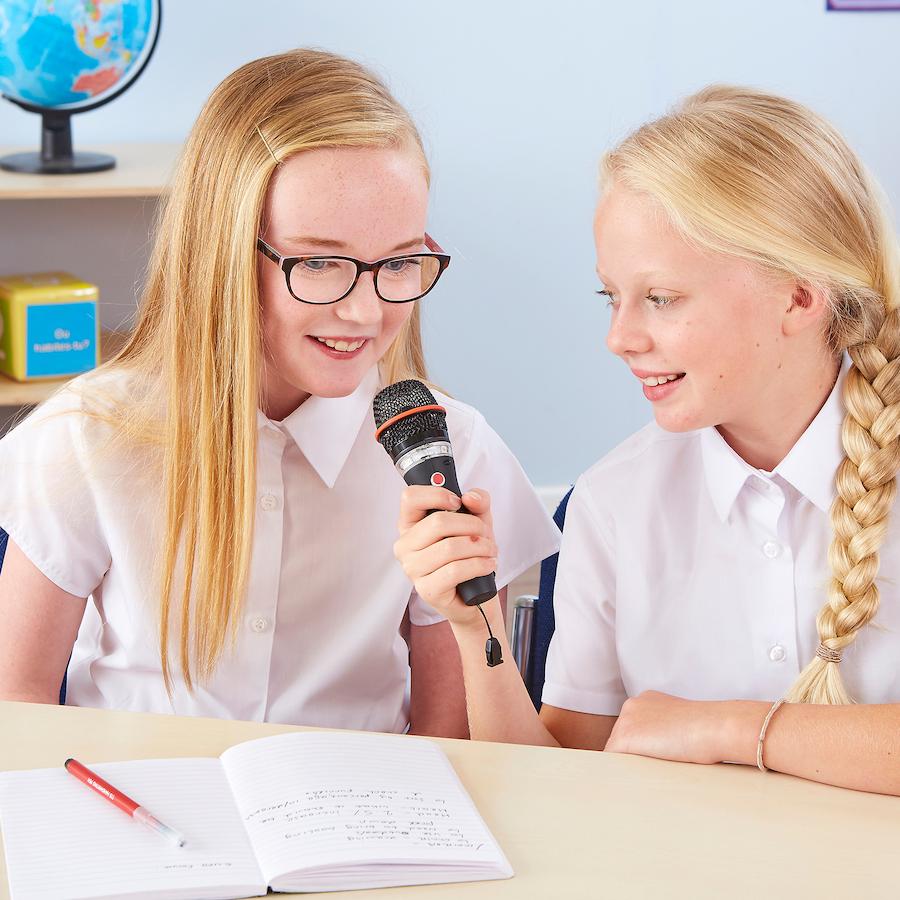 Easi Speak microphone bluetooth TTS