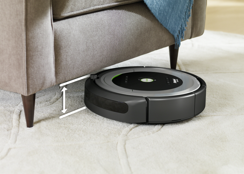 Navigation efficace Roomba 680