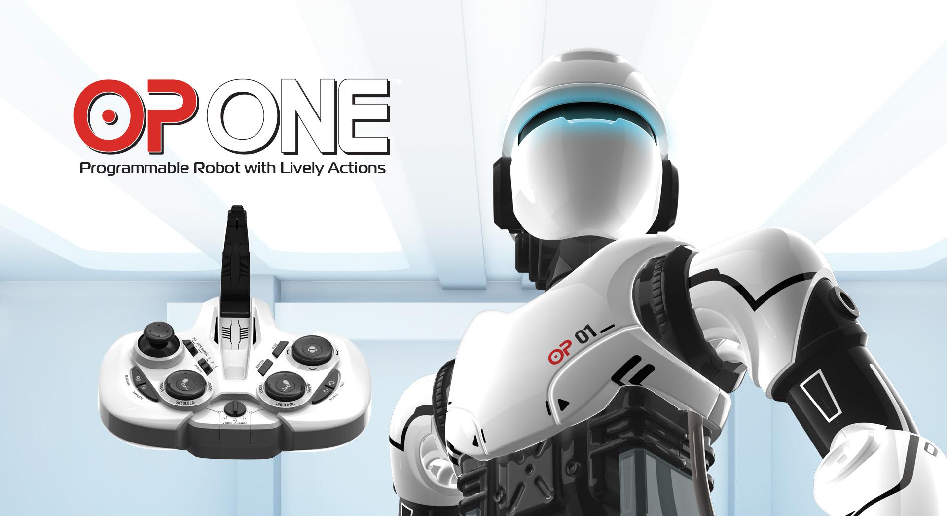 OP 1, OP One, robot jouet