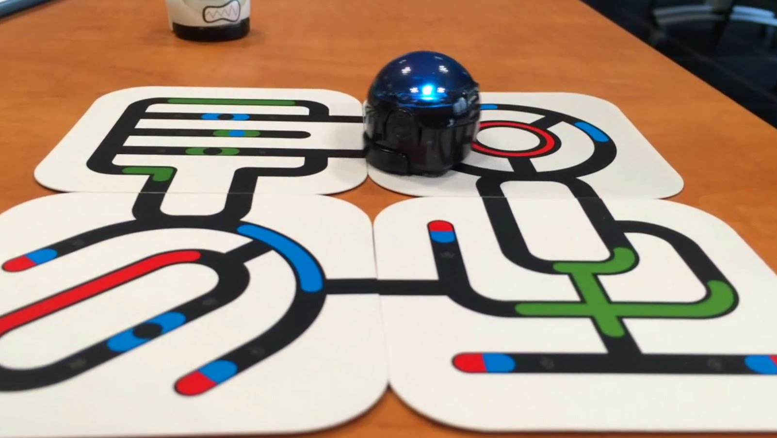 couleurs avec Ozobot Evo