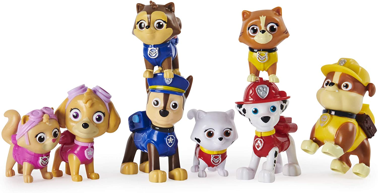 multi pack action figures Paw Patrol