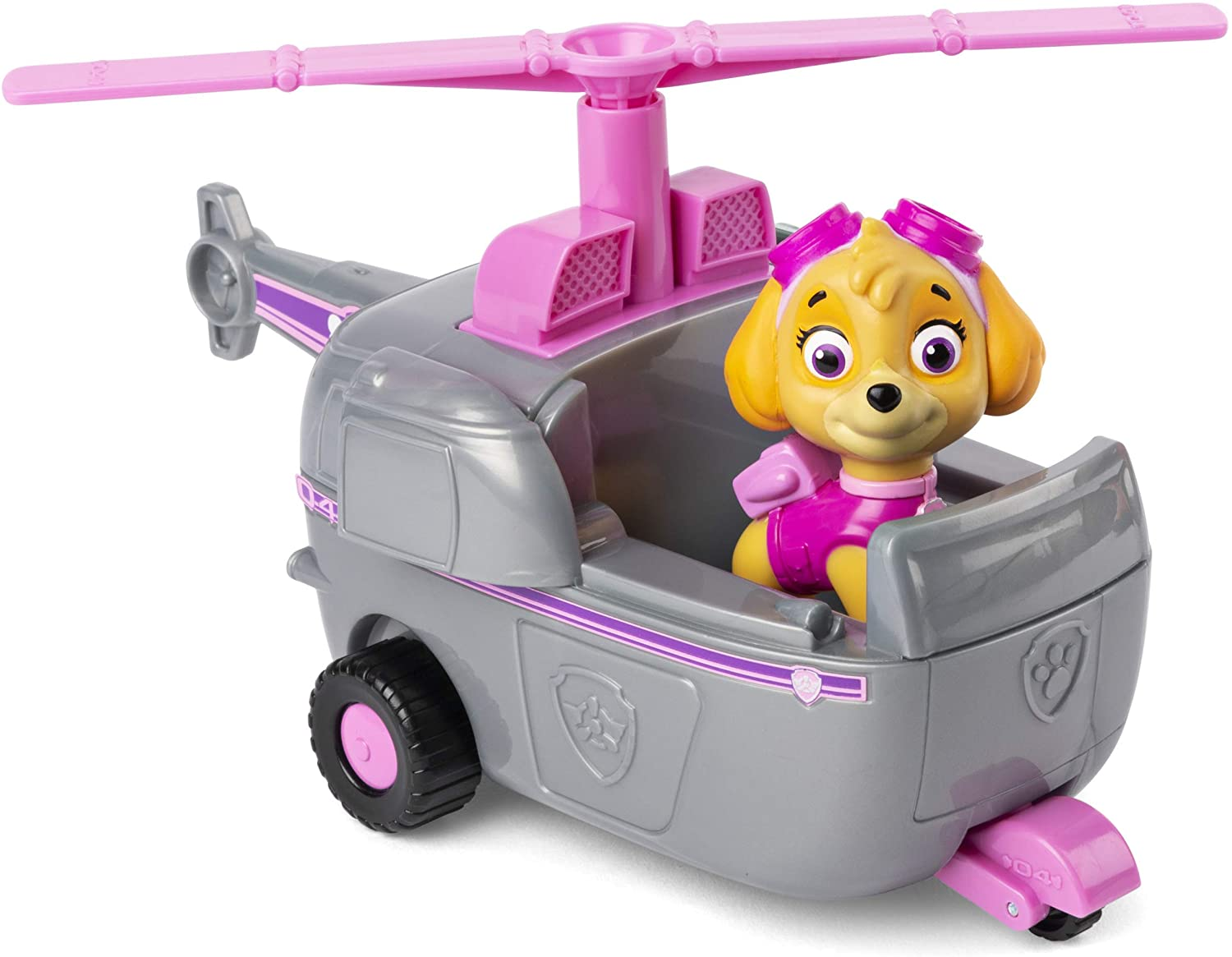 Stella Paw Patrol helicopter and figurine