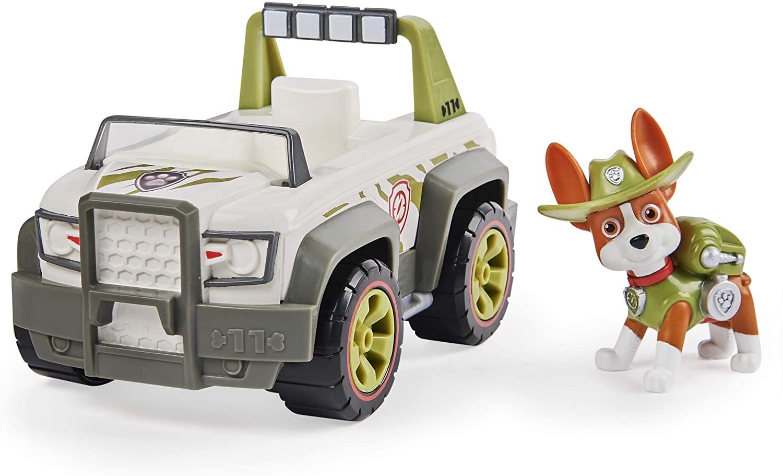 Tracker Pat Patrouille figurine et véhicule