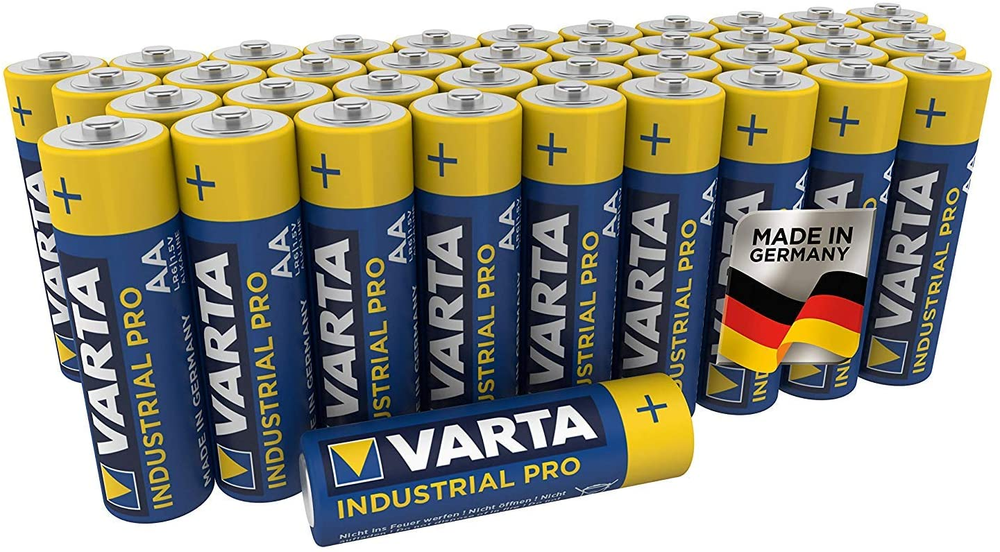 40 piles AA LR06 Varta Industrial