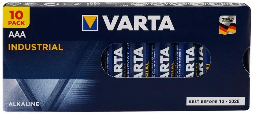 AAA Alkaline Varta Batteries Set of 10