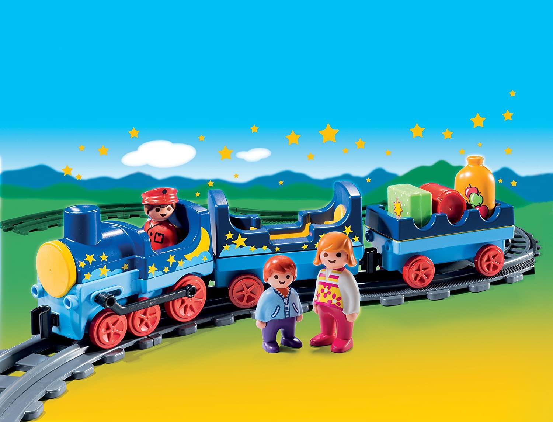 Playmobil 123 6880 train étoile et passagers