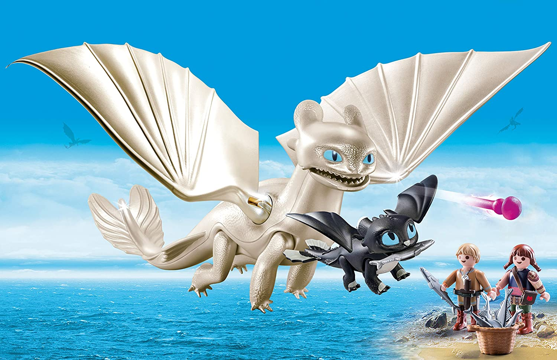 Playmobil 70038 Furie Éclair et Bébé Dragon