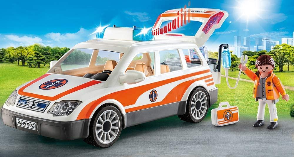 Playmobil 70050 voiture et ambulancier