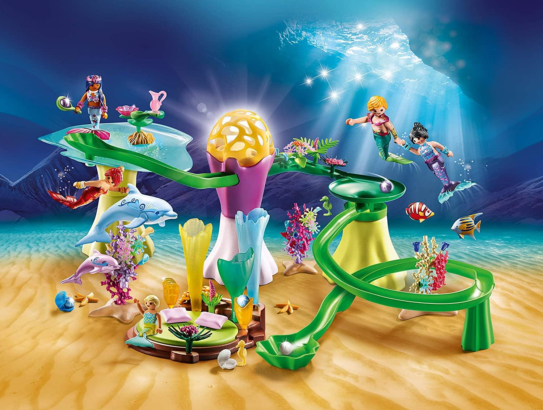 Playmobil 70094 pavillon corail et dôme lumineux