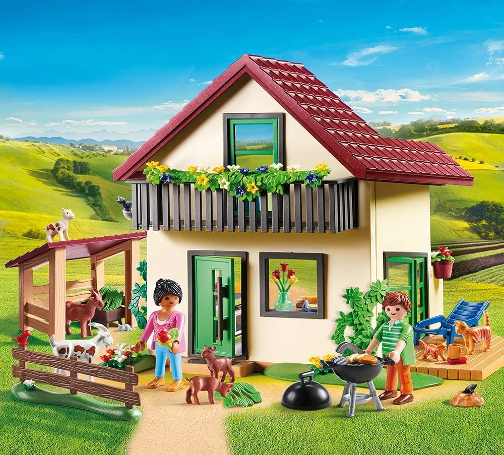 Playmobil 70133 Maison des fermiers