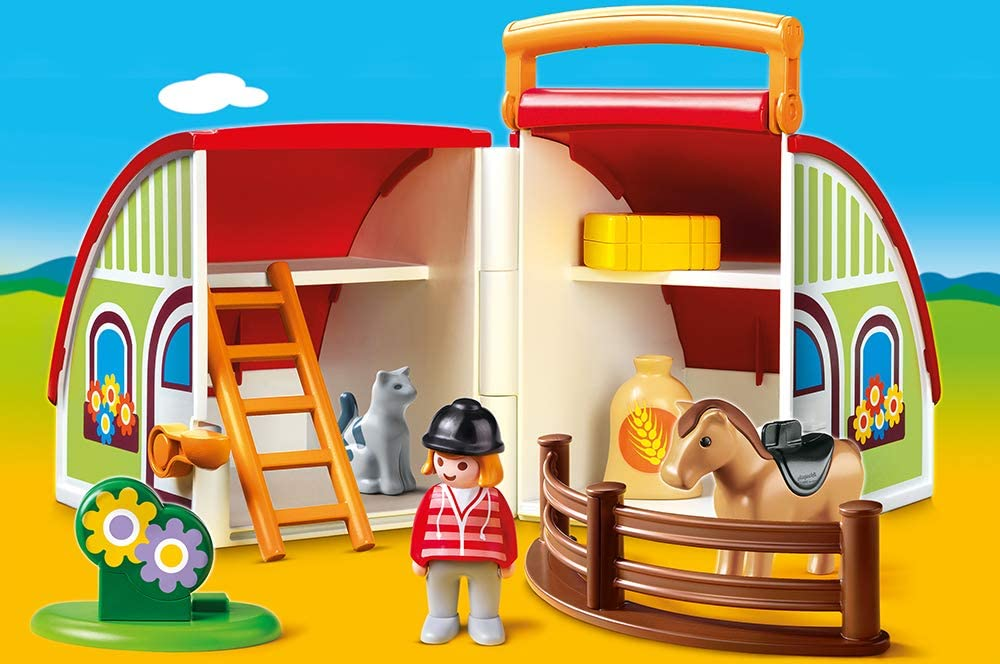 Playmobil 70180 centre équestre transportable