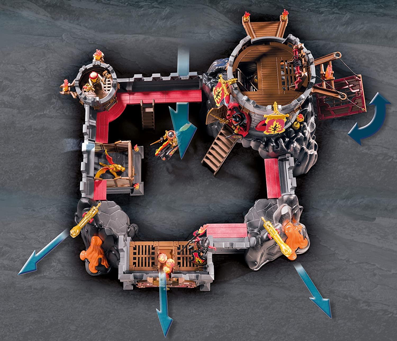 Playmobil 70221 Forteresse volcanique des Burnham Raiders