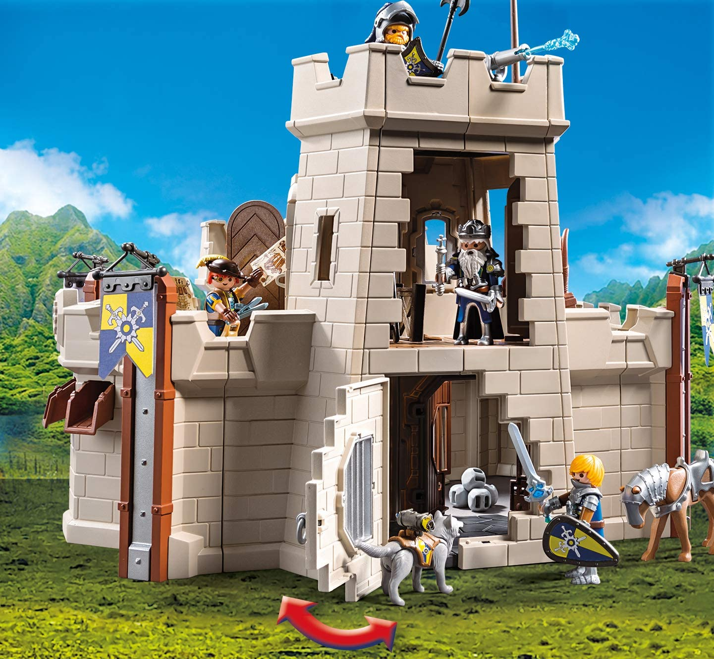 Playmobil 70222 Citadelle des Chevaliers Novelmore