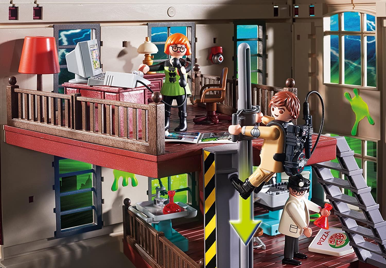 Playmobil 9219 Quartier général Ghostbusters