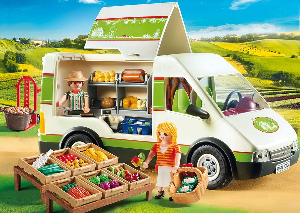 Playmobil 70134 camion marché