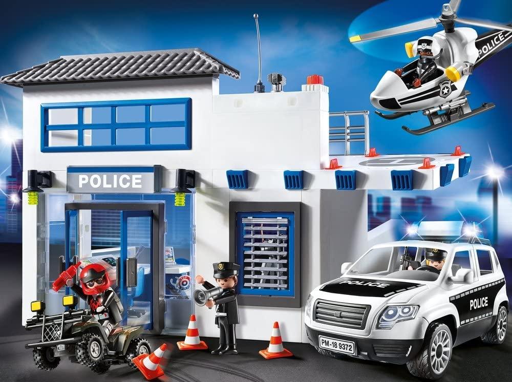 Poste de police Playmobil city action 9372