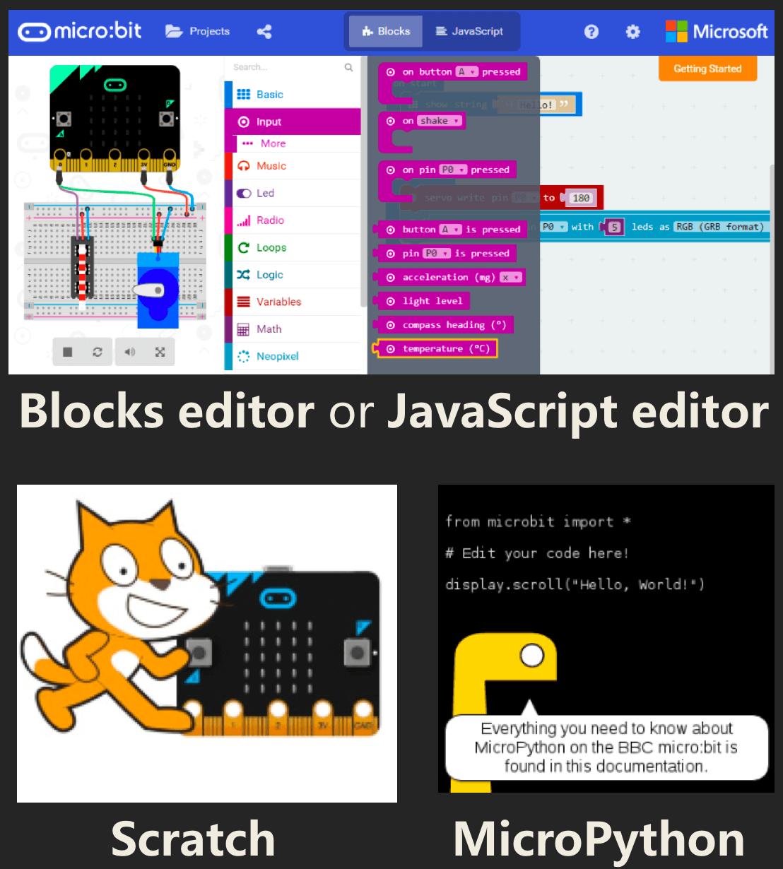 Max:bot micro:bit programmation