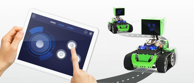 Qoopers Robobloq robot éducatif programmable