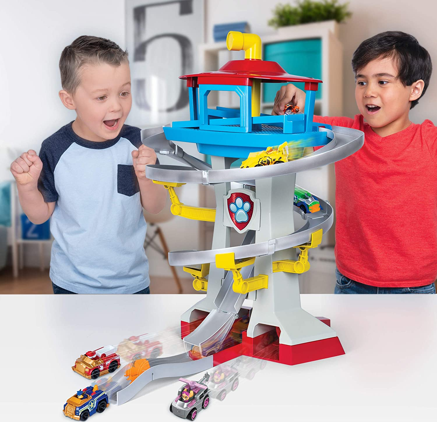 Paw Patrol Headquarters and Vehicles