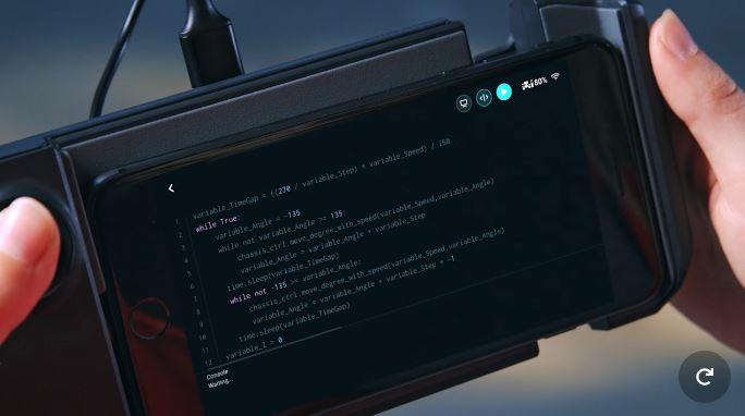 Robomaster S1 DJI coding