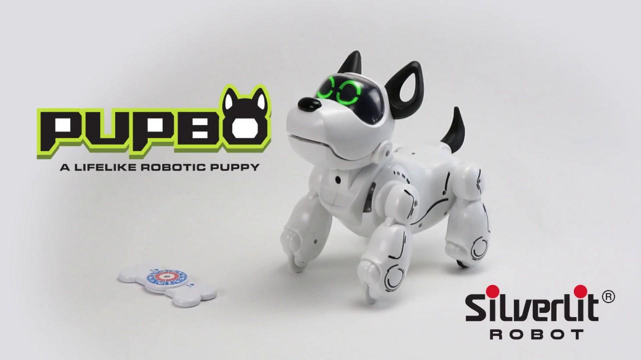 robot chien pupbo silverlit