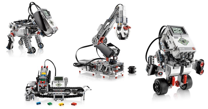 Robot Lego and lego education