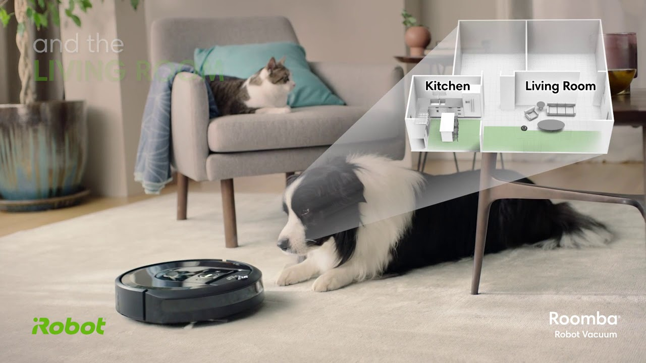 iRobot Roomba i7150 smart mapping
