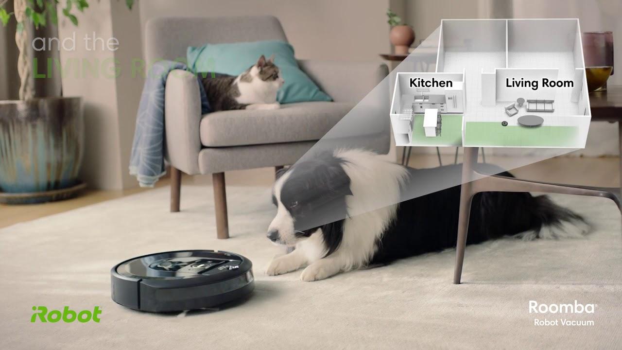 Smart Mapping Roomba i7150 iRobot