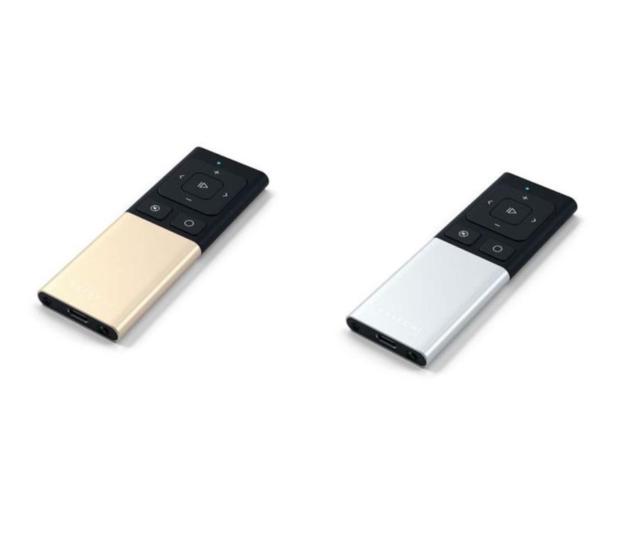 Wireless aluminum remote control bluetooth satechi