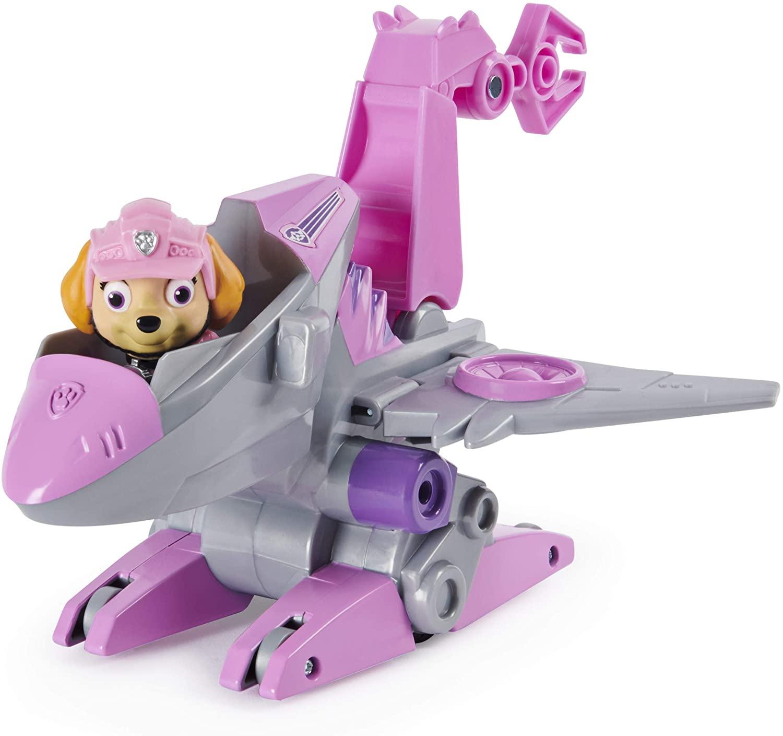 Stella pat patrouille dino rescue véhicule et figurine