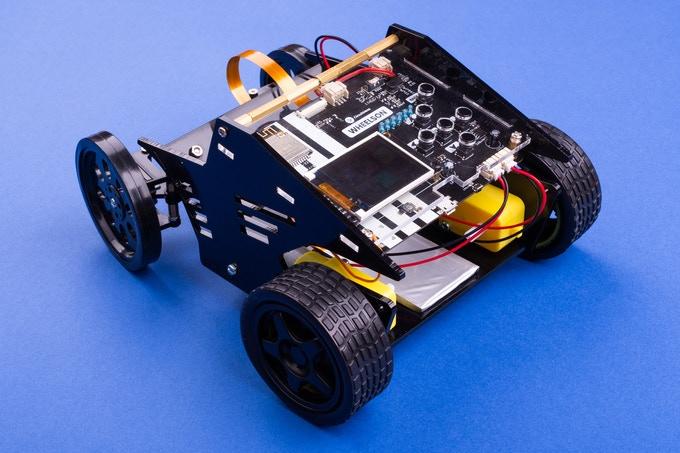 STEM Box circuitmess voiture autonome wheelson