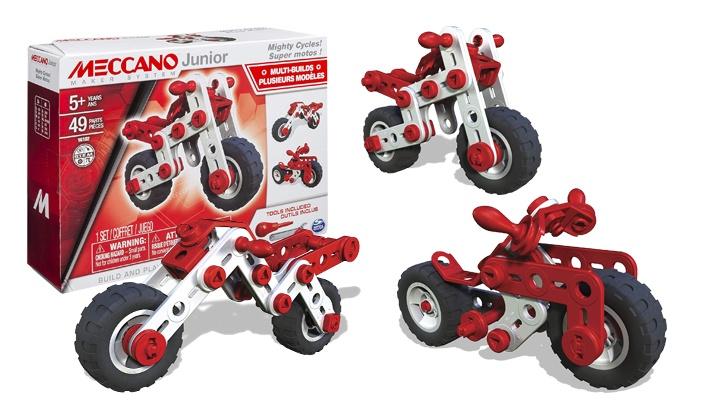 Super Motos Meccano Junior